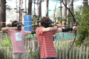 Archery game tag biscarrosse